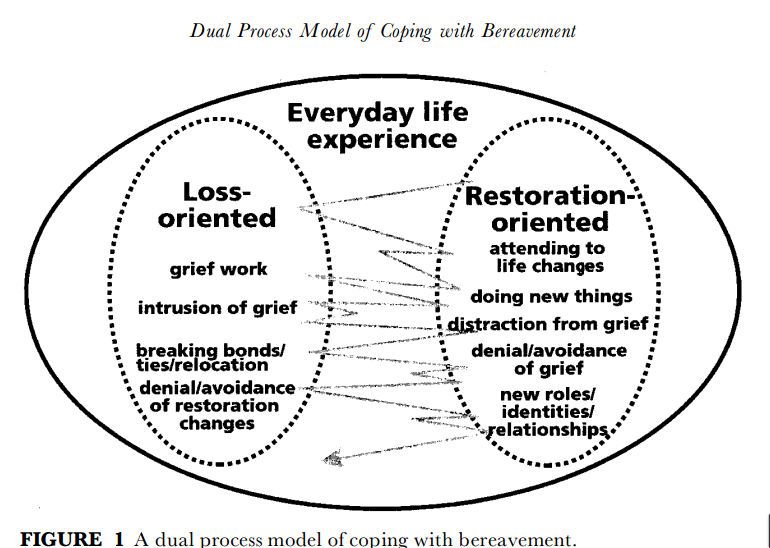 John Taylor While We Are Mourning The Loss Of Our: Grief Theory 101: The Dual Process Model Of Grief