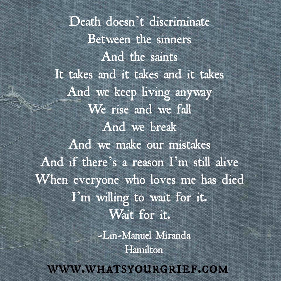 Death Grief: What's Your Grief?